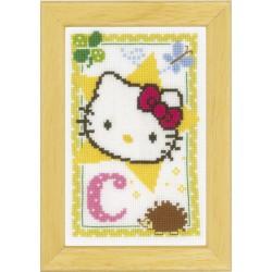 Vervaco | kit | Alphabet © Hello Kitty  Lettre G  Vervaco  0149531 | Broderie du monde