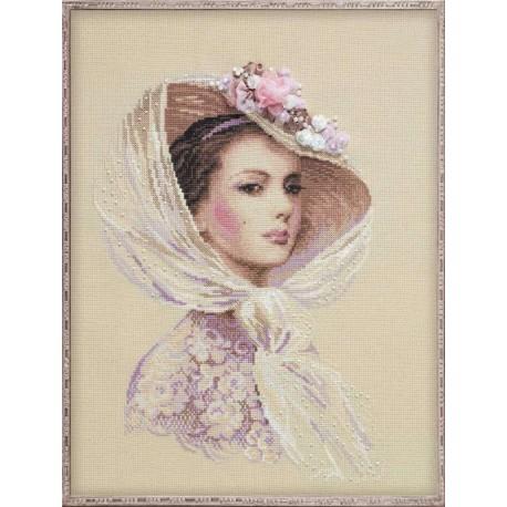 Riolis 100-028  Lilac Evening  Kit point compté