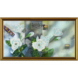 Nova Sloboda  kit Inspiration Floral Mix  Nova Sloboda  HK 3134 | Broderie du monde