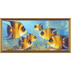 Nova Sloboda  kit Fishes  Nova Sloboda  DK 6017 | Broderie du monde