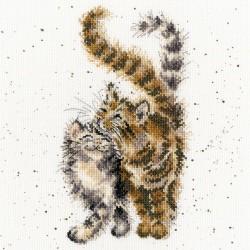 Bothy Threads XHD60  Feline good  Kit point compté