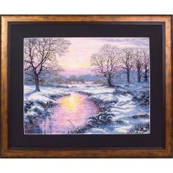 Maia | kit  Winter Sunset | Maia  5678000-01013 | Broderie du monde