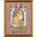 Nova Sloboda  kit Cat from the constellation of Virgo  Nova Sloboda  HK 4091 | Broderie du monde
