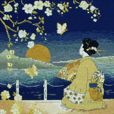 Maia | kit  Kimono Sunset | Maia  5678000-01154 | Broderie du monde