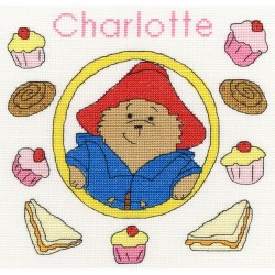 Kit point compté  Paddington Bear  Baking Sampler XPB2  Bothy Threads