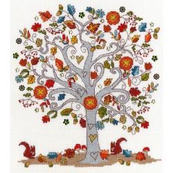 Kit point compté  Love Autumn XKA12  Bothy Threads