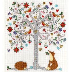 Kit point compté  Love Winter XKA13  Bothy Threads