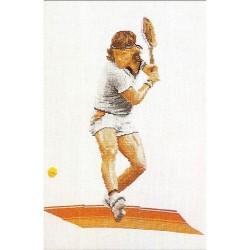 Kit point compté  Tennis 1004  Thea Gouverneur  Lin