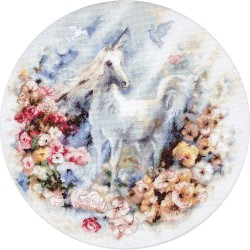 Kit point compté  Licorne 903  Letistitch