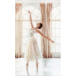Kit point compté  Ballerine 906  Letistitch