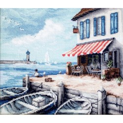 Kit point de croix  Port 908  Letistitch
