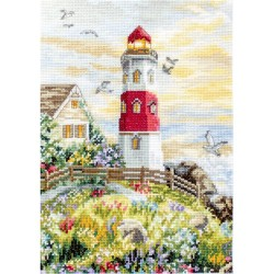 Kit point de croix compté  Le Phare 917  Letistitch
