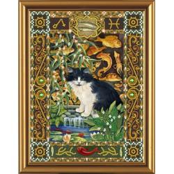 Nova Sloboda  kit Cat from the constellation of  Fish  Nova Sloboda  HK 4097 | Broderie du monde