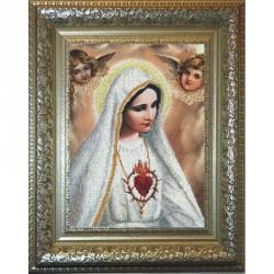 Krasa i Tvorchist | kit  Notre-Dame de Fatima  Krasa i Tvorchist  30911 | Broderie du monde