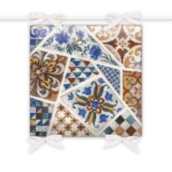 Kit point compté  Coussin Mosaic 1871  Riolis