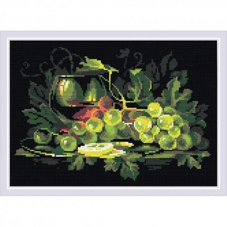 Kit Broderie Diamant  RIOLIS  AM0026 Nature morte avec citron