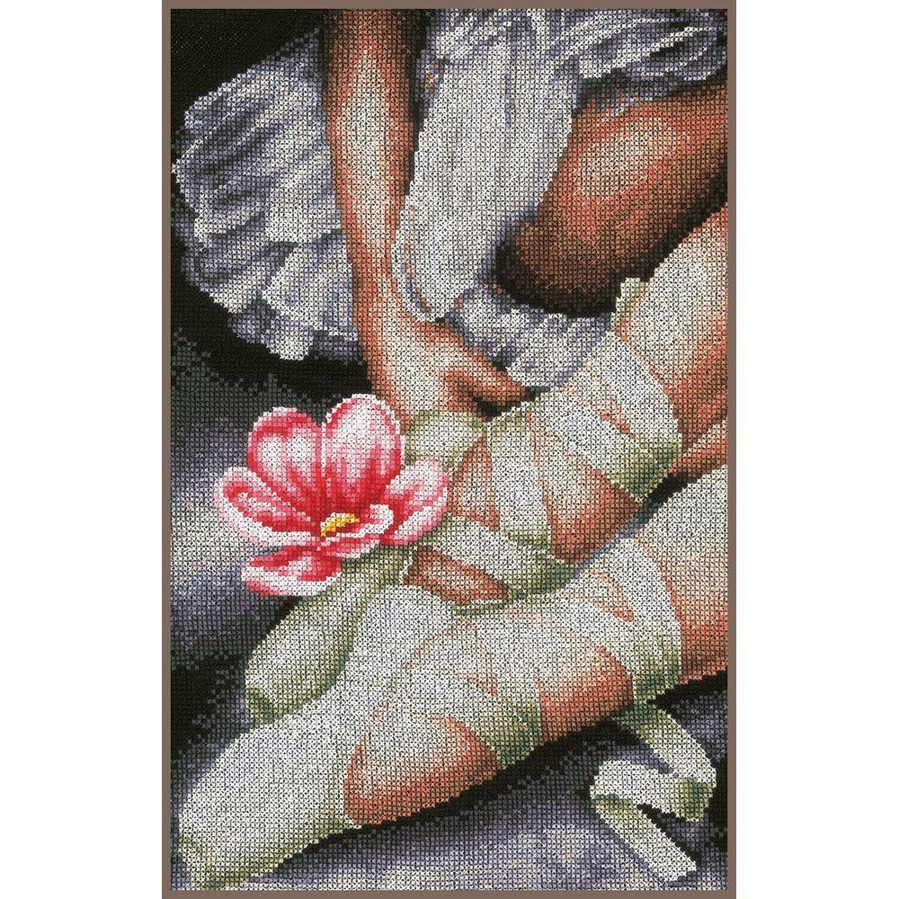 Ballet le dos Kits de point de croix Kits de 34*42/cm au point de croix /Égypte Coton Thread130/* 180/Stitch 14/ct