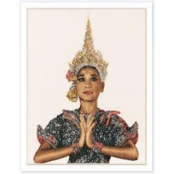 Kit point compté  Thaïlandaise 422  Thea Gouverneur