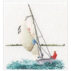 Kit point compté  Navigation à voile 3091A  Thea Gouverneur