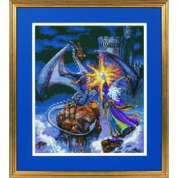 Dimensions   kit  Broderie  point de croix  compté  Magicien magnifique  Dimensions  D35080   Broderie du monde