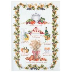 Kit point de croix  Sampler  Cuisine 2027A  Thea Gouverneur