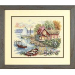Maison  paisible  au  bord  du  lac  35230  Dimensions