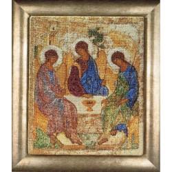 Kit point de croix  Icône  La Sainte Trinité 570A  Thea Gouverneur