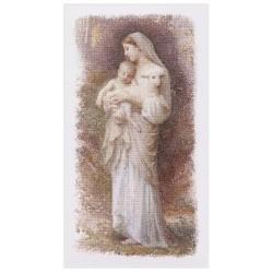 Thea Gouverneur 560  La Vierge Marie  Broderie  Point de croix compté