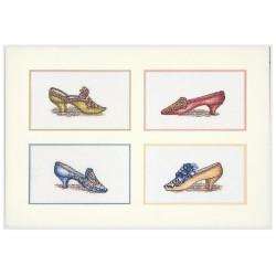 Kit point de croix  Chaussures 3023  Thea Gouverneur