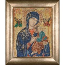 Kit point de croix  Icône  Notre-Dame du Perpétuel Secours 551A  Thea Gouverneur