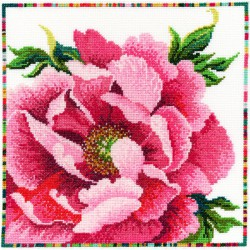 Bothy Threads  XGF3  Garden Flowers  Peony