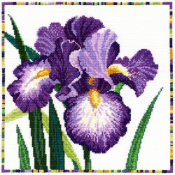 Bothy Threads  XGF8  Garden Flowers  Iris