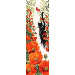 Bothy Threads | kit  broderie  point de croix  compté  Cats  Follow me 3 | Bothy Threads  XFM3 | Broderie du monde