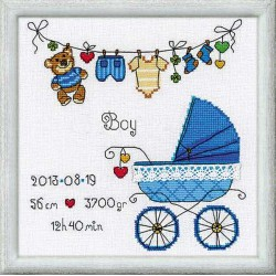 Riolis  kit It's a Boy! | Riolis  1418 | Broderie du monde