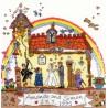 Bothy Threads  kit  broderie  point de croix  compté  Cut Thru  Wedding | Bothy Threads  XCT23 | Broderie du monde