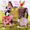 Bothy Threads  Down on the farm  Tractor  XDF1