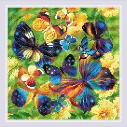 Kit Broderie Diamant  Papillons lumineux AM0038  Riolis