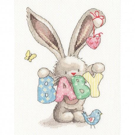 Kit point de croix  Baby XBB20  Bothy Threads
