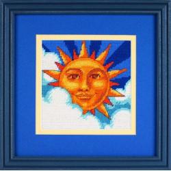 Dimensions | kit  canevas  Soleil céleste | Dimensions D07218 | Broderie du monde