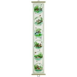 Kit point de croix  Bannière  Cabards 35-0424  Permin