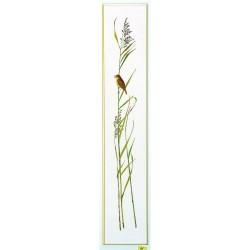Kit point de croix  Roseau et oiseau 08-4413  Eva Rosenstand
