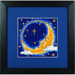 Dimensions   kit  canevas  Rêveur de lune   Dimensions D07173   Broderie du monde