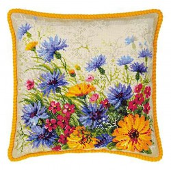 Riolis  kit Moorish Lawn Cushion | Riolis  1413 | Broderie du monde
