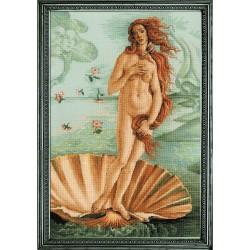 Kit point compté  La naissance de Vénus 100-062  Riolis