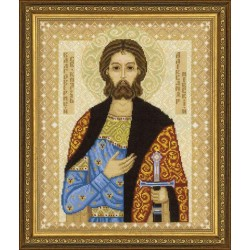 Kit point compté  Icône  St. Alexandre Nevski 1424  Riolis