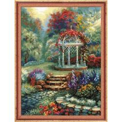 Riolis  kit Flower Arbor | Riolis  1383 | Broderie du monde