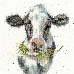 Kit point de croix  Vache laitière XHD84  Bothy Threads