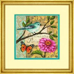 Lettre  Oiseau  70-65103  Dimensions