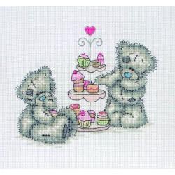 Anchor | kit  broderie  point de croix  compté  Me to you  Cupcakes | Anchor  TT227 | Broderie du monde