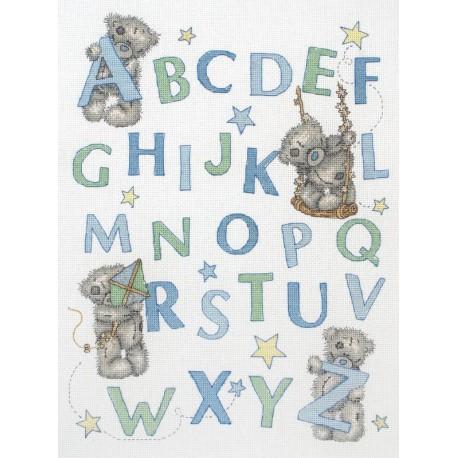Anchor Kit Point De Croix Compté Me To You Learn The Alphabet For Boys Kit Anchor Boutique Broderie Du Monde
